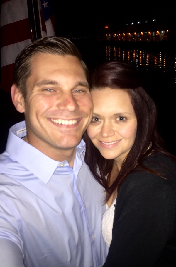 Amber Ragsdale and Rob Hooffstetter
